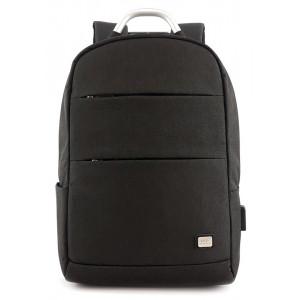 MARK RYDEN τσάντα πλάτης MR6320, με θήκη laptop 15.6, 16L, μαύρη MR6320-00