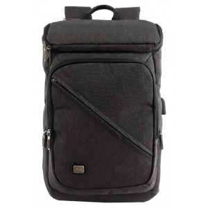 MARK RYDEN τσάντα πλάτης MR6545, με θήκη laptop 15.6, μαύρη MR6545-00