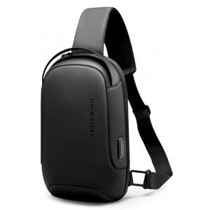 MARK RYDEN τσάντα crossbody MR7510, θήκη tablet 9.7, αδιάβροχη, μαύρη MR7510-00