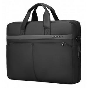 MARK RYDEN τσάντα ώμου MR8001D, με θήκη laptop 15.6, 9.6L, μαύρη MR8001D-00