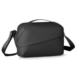 MARK RYDEN τσάντα ώμου MR8555, με θήκη tablet 12.9, 7L, μαύρη MR8555-00