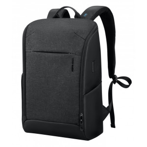 MARK RYDEN τσάντα πλάτης MR9201, με θήκη laptop 15.6, 18L, μαύρη MR9201-03