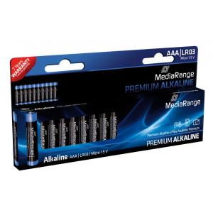 MediaRange Premium Αλκαλικές μπαταρίες τύπου AAA (LR03) - 10 MRBAT102