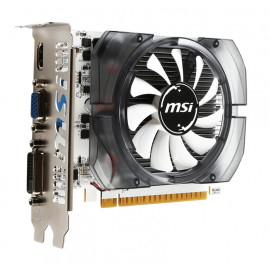 MSI VGA GeForce GT 730, 2GB DDR3, PCI-E 2.0, HDMI/DL-DVI-D, 64bit, OC MSI-N730K-2GD3OCV1