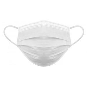 Μάσκα προστασίας 3 στρωμάτων MSK-0010, με φίλτρο BFE 80%, 10τμχ MSK-0010