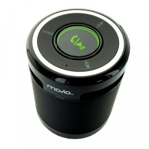 MOVIO Bluetooth Speaker, 3W, 3.5mm jack, Microphone, Black MVO-SPBT421764B