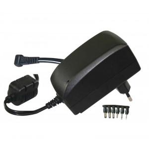 MW επιτοίχιος φορτιστής ρεύματος MW3IP25GS, 3-12V, 2250mA, 6 tips MW3IP25GS