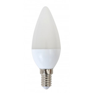 OMEGA LED Λαμπα Candle 5W, Warm White 2800K, E14 OMELE14C-5W