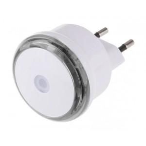 EMOS LED φωτιστικό νυκτός P3306, schuko, με αισθητήρα φωτός, λευκό P3306