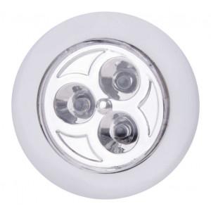 EMOS LED φωτιστικό P3819, 12lm, 15m, λευκό, 3τμχ P3819