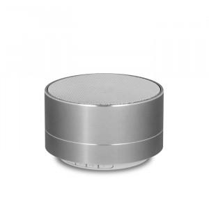 FOREVER Bluetooth Speaker PBS-100 Portable, FM radio, microSD, Silver PBS-100-SL