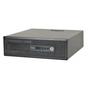 HP PC 600 G1 SFF, i5-4590T, 4GB, 500GB HDD, DVD, REF SQR PC-1002-SQR