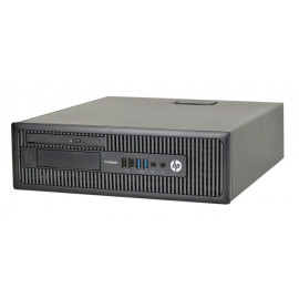 HP PC 600 G1 SFF, i5-4570, 4GB, 500GB HDD, DVD, REF SQR PC-1411-SQR