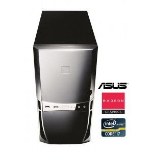 SQR H/Y, i7-975, HD 7350, 4GB, 250GB HDD, DVD-ROM, Βαμμένο PC-248-SQR