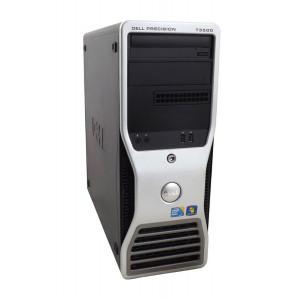 DELL SQR Workstation T3500, Xeon X5550, 6GB, 250GB HDD, DVD, Βαμμενο PC-322-SQR