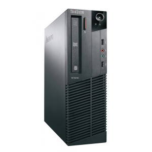 LENOVO SQR PC M91p SFF, i5-2400, 4GB, 500GB HDD, DVD-RW, Βαμμενο PC-338-SQR