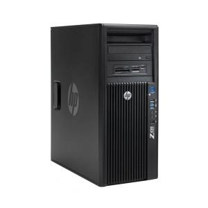 HP SQR Workstation Z420 MT, Xeon E5-1603, 8/300GB HDD, DVD-RW, Βαμμένο PC-483-SQR
