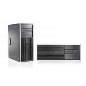 HP PC 8000 CMT, E8400, 4GB, 250GB HDD, DVD, REF SQR PC-640-SQR