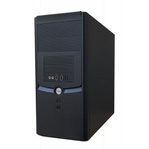 SQR PC MT, i3-530, 4GB, 250GB HDD, H55MXV, 240 W PSU, Βαμμένο PC-660-SQR