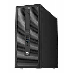 HP PC 600 G1 Tower, i5-4690T, 4GB, 500GB HDD, DVD, REF SQR PC-950-SQR