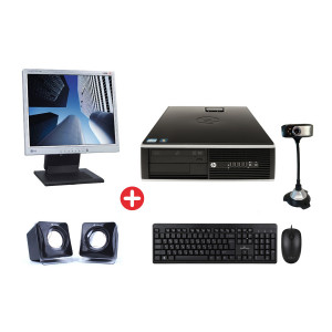 HP used PC PC-391-SQR με Οθόνη LCD 19, Ηχεία, Cam, mouse & keyboard PC-BUNDLE-7