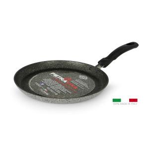 FLONAL Κρεπιέρα αντικολλητική Pietra Viva 25cm, με λαβή βακελίτη PIVCR2570