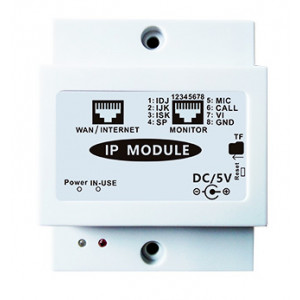 PAILI Μονάδα σύνδεσης θυροτηλεόρασης στο διαδίκτυο PL-IP PL-IP