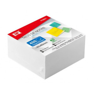 MP Αυτόλλητα χαρτάκια σημειώσεων PN801, 85 x 85mm, 400τμχ, λευκά PN801