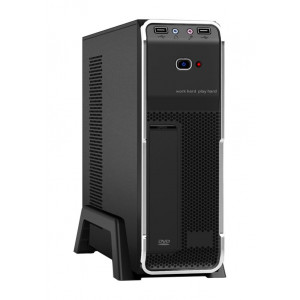 POWERTECH Case, MINI ATX, 2x USB 3.0, με PSU 300watt PT-123