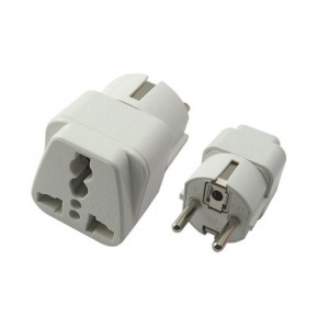 Powertech adapter German type, σε UNIVERSAL, CCA PT-349