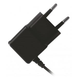 POWERTECH Φορτιστής Τοίχου PT-417, USB Micro με καλώδιο, 1A, Black
