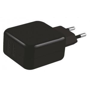 POWERTECH Φορτιστής Τοίχου PT-419, 2x USB, 3.1A, Black