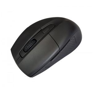 POWERTECH Ασυρματο ποντικι, Οπτικο, 1600DPI, 6 πληκτρα, μαυρο PT-598