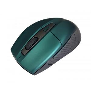 POWERTECH Ασυρματο ποντικι, Οπτικο, 1600DPI, 6 πληκτρα, μπλε PT-599
