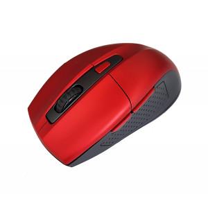POWERTECH Ασυρματο ποντικι, Οπτικο, 1600DPI, 6 πληκτρα, κοκκινο PT-600