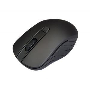 POWERTECH Ασύρματο ποντίκι PT-601, Οπτικό, 1600DPI, 6 πλήκτρα, μαύρο PT-601