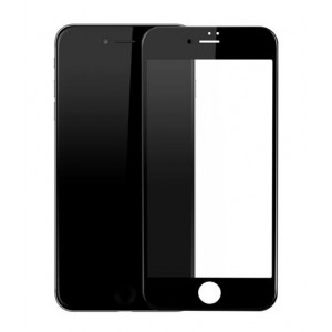 POWERTECH Tempered Glass 3D Full Face για iPhone 7, Black PT-614