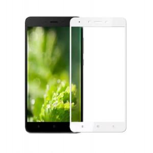 POWERTECH Tempered Glass 3D Full Face για Xiaomi Redmi Note 4/4X, White PT-629