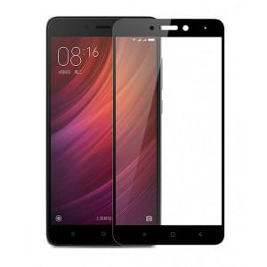 POWERTECH Tempered Glass 3D Full Face για Xiaomi Redmi Note 4/4X, Black PT-630