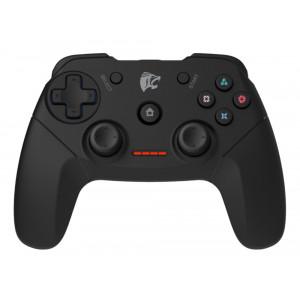 ROAR Gamepad για PC/PS2/PS3, Wireless, Vibration, 600mAh, Black PT-671