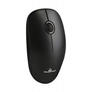 POWERTECH Ασύρματο ποντίκι, Οπτικό, 1200DPI, μαύρο PT-684