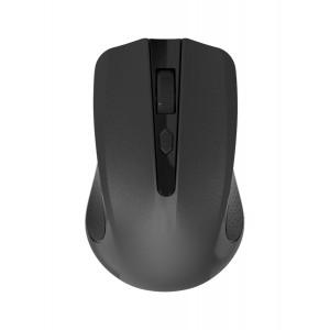 POWERTECH Ασύρματο ποντίκι, Οπτικό, 1600DPI, μαύρο PT-691