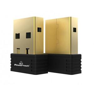 POWERTECH Wireless USB nano adapter, 150Mbps, 2.4GHz, MT7601 PT-694