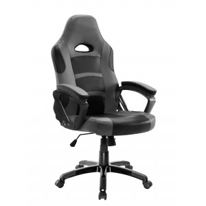 POWERTECH Καρέκλα γραφείου PT-721, ρυθμιζόμενη, με υποβραχιόνια, μαύρη PT-721