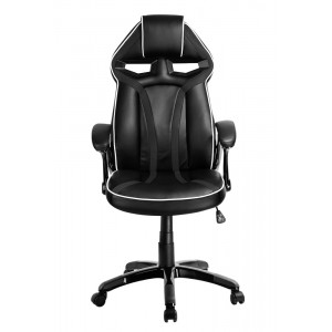POWERTECH Καρέκλα γραφείου PT-723, ρυθμιζόμενη, με υποβραχιόνια, μαύρη PT-723