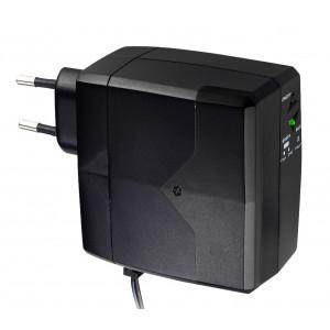 POWERTECH Mini DC UPS, Samsung 2600mAh, DC Jack OD 5.5mm ID 2.1mm, 1mm PT-749