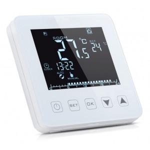 POWERTECH Έξυπνος θερμοστάτης καλοριφέρ PT-785, WiFi, touch screen PT-785