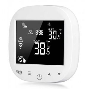 POWERTECH Έξυπνος θερμοστάτης καλοριφέρ PT-786, WiFi, touch screen PT-786