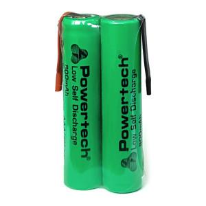POWERTECH επαναφορτιζόμενη μπαταρία PT-789 800mAh, AAΑ (HR03), 2τμχ PT-789