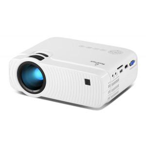 POWERTECH Projector PT-828, Wi-Fi Airplay, 720p, HDMI, LRD, λευκός PT-828